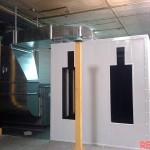 instalaciones de pintura - horno de soplado