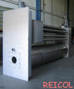 cámara de combustión-Cámara de doble hilera