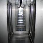 instalaciones de pintura - interior túnel